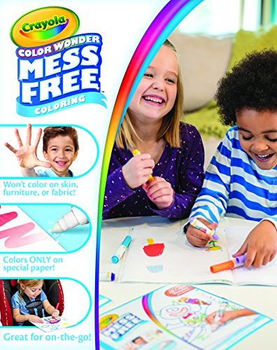 Crayola Color Wonder Mess Free Fingerpaints And Paper Art Tools Great For Travel