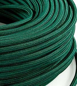 Cable eléctrico de tela redondo, estilo vintage ...