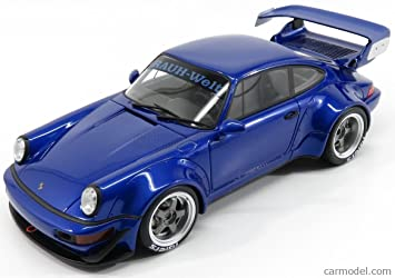 Porsche 911 RWB (964) in Blue 1:18 Scale by GT Spirit