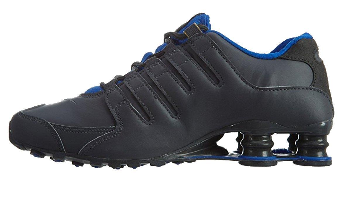 4142ffd820947b ... uk fashion nike shox nz se men running shoes dark grey metallic gold  hyper 537e0 18812