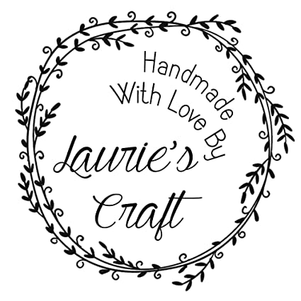 Amazon com : Handmade with Love by Stamp Calligraphy Font