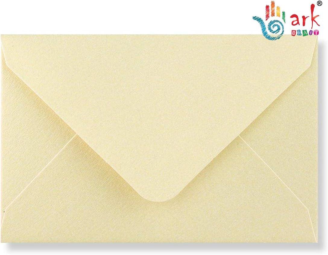 Gold arkCRAFT 25 x C6 Premium Envelopes 100gsm 114mm x 162mm