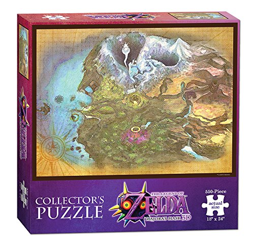 USAopoly Toy - Puzzle - The Legend of Zelda: Majora's Mask - Termina Map for $<!--$10.67-->