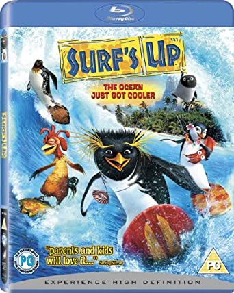 Surf's Up [Blu-ray] [2007] [Region Free]