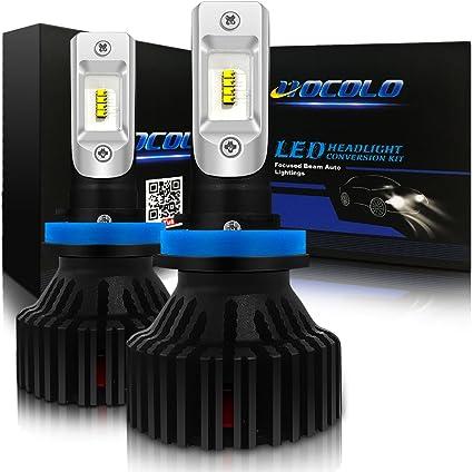 Xentec LED Fog Light Kit H11 H8 H9 for Honda Odyssey Civic Pilot Accord CR-V