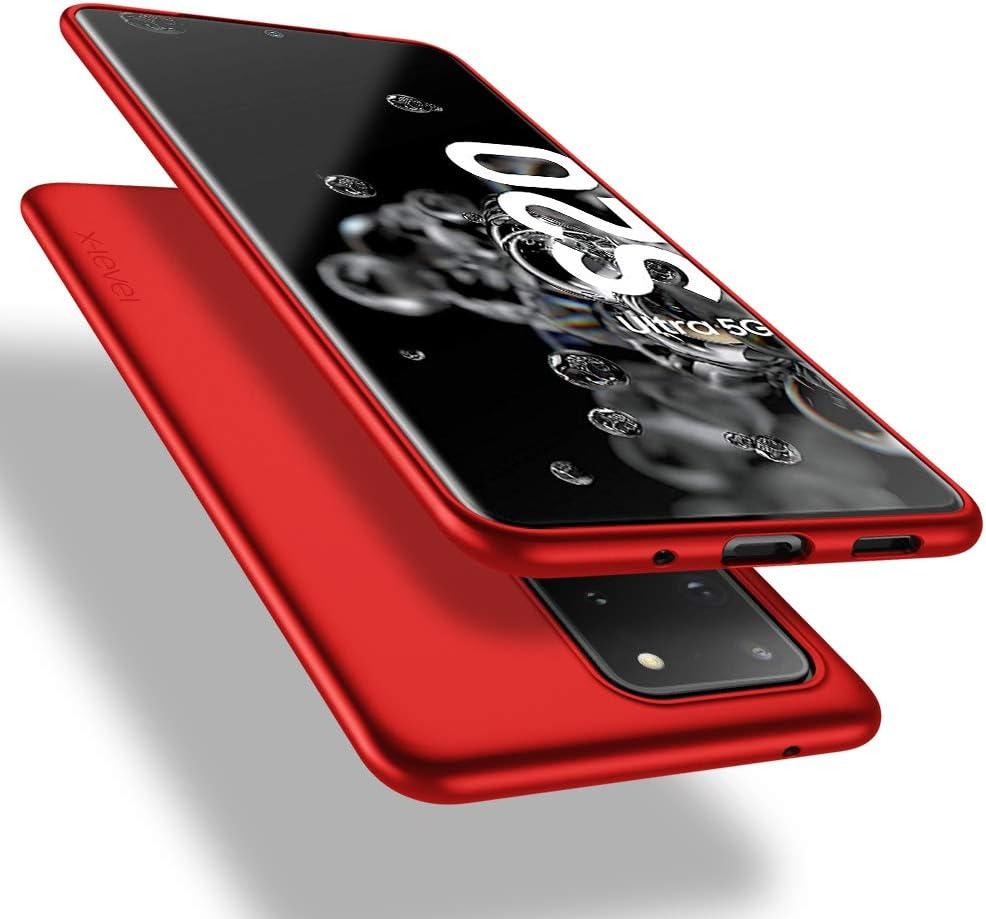 X Level Samsung Galaxy S20 Ultra Hülle Guardian Serie Soft Flex Tpu Case Ultradünn Handyhülle Silikon