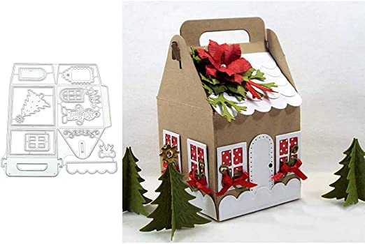 4 Christmas Presents PAPER Die Cuts Scrapbook /& Card Making