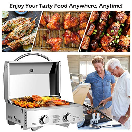 Buy stainless steel propane grill