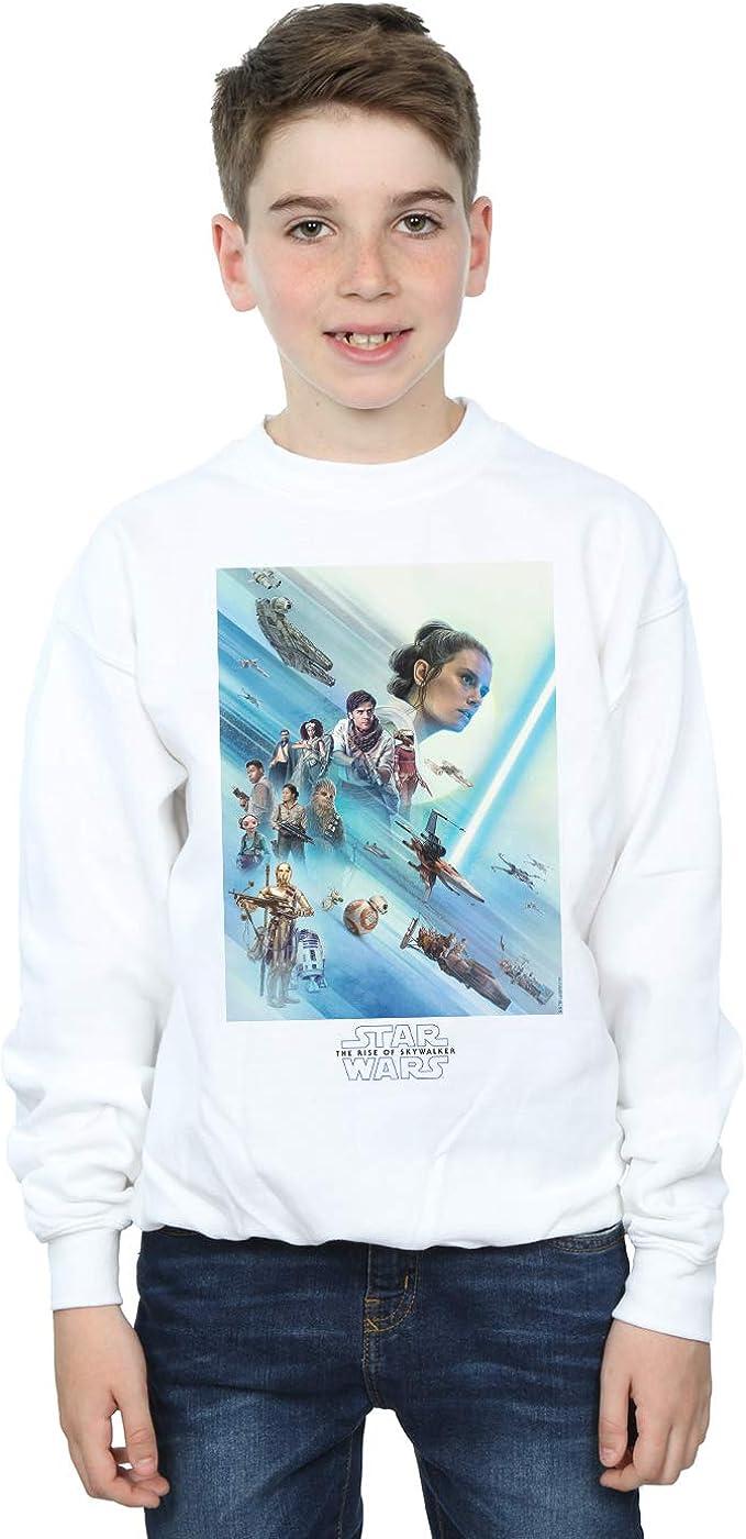 Star Wars The Rise of Skywalker Resistance Poster Boys Sweatshirt