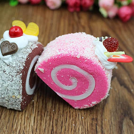 Vosarea Pastel Artificial simulación Falso Comida Cocina hogar decoración (Rosa): Amazon.es: Hogar