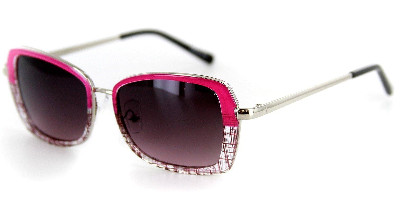 Amazon.com: Flair Diseñador anteojos de sol con marcos de ...