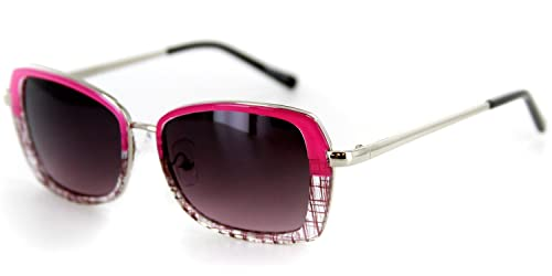 Amazon.com: Flair Designer Sunglasses with Stylish Patterned Frames ...