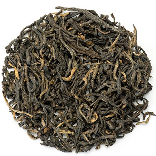 Teavivre Yunnan Dian Hong Gongfu Fragrant Black Tea Loose Leaf Chinese Tea - 3.5oz/100g