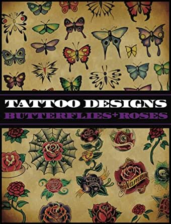 tattoo designs butterflies and roses ebook superior tattoo kindle store. Black Bedroom Furniture Sets. Home Design Ideas