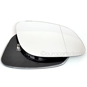 Driver Side Wide Angle Heated Wing Door Mirror Glass Replacement New