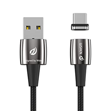 Cable USB magnético Tipo C, WSKEN X1 Pro Cable Cargador USB ...