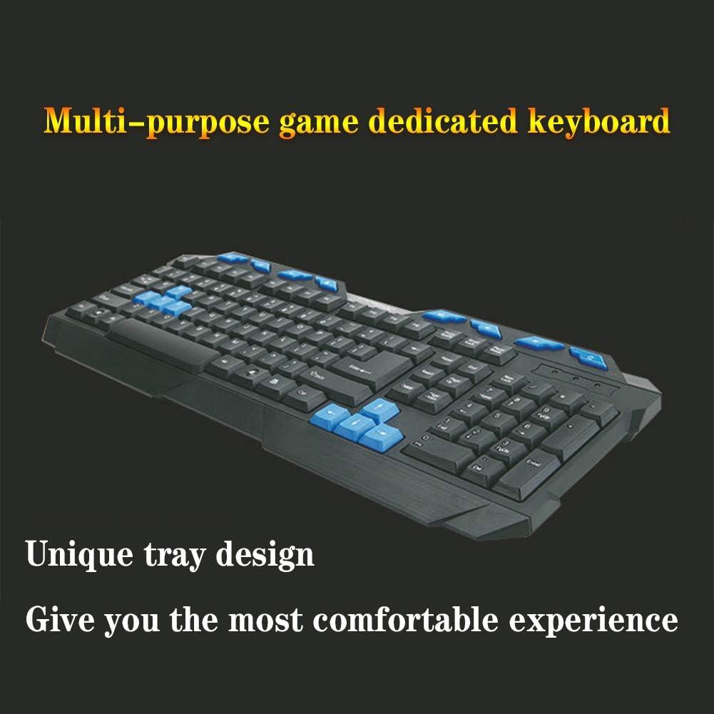 104-key Multimedia Keys USB Waterproof Universal Gaming Office Keyboard Black Wired Keyboard