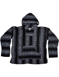 Striped Woven Eco-Friendly Jacket Coat Hoodie