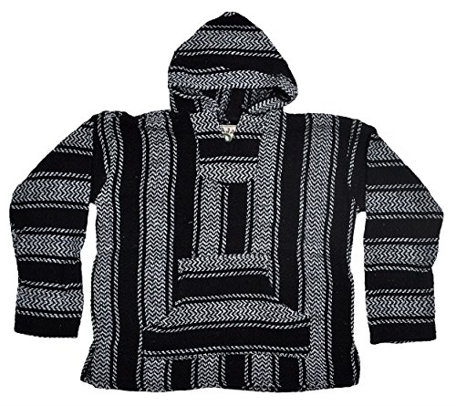 baja-joe-striped-woven-eco-friendly-jacket-coat-hoodie-black-xl