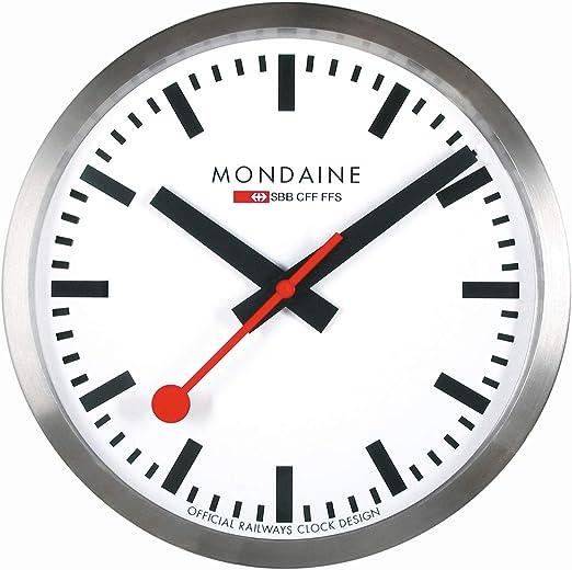 Mondaine A990.CLOCK.16SBB Orologio, bianco