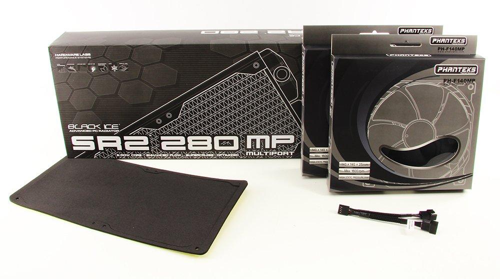 Hardware Labs Black Ice SR2 280 Multiport Combo Kit