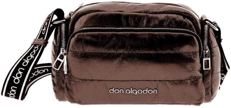 Don Algodon Bolso Bandolera Padded, Bronce, 27x16x12 cm: Amazon.es ...