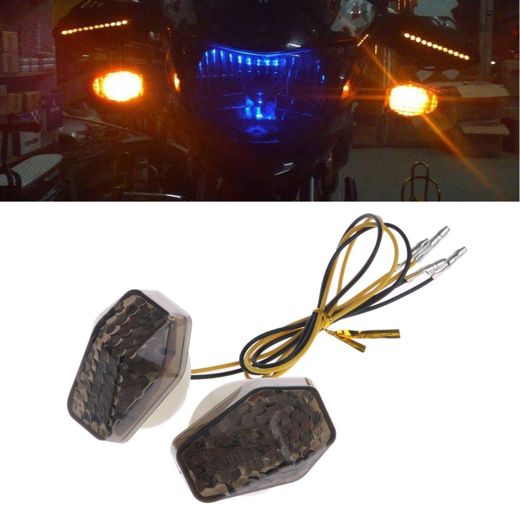MAZE MA Motorcycle LED Flush Mount Turn Signal Indicator Flasher for Suzuki GSXR 600