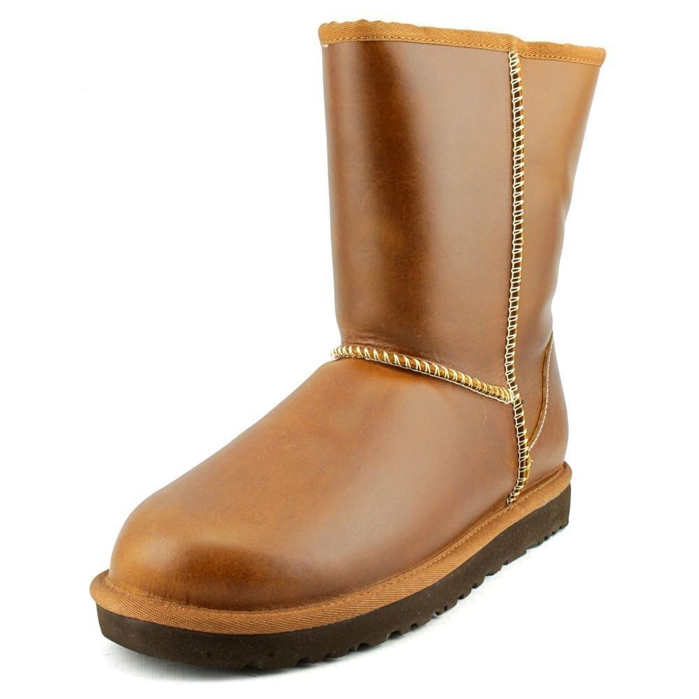 UGG Women's Classic Short Leather Chestnut 5 B - Medium