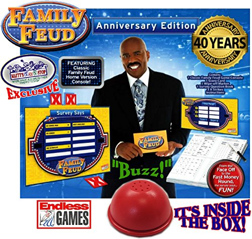 Family Feud Deluxe 40th Anniversary Edition with Classic - Import It All