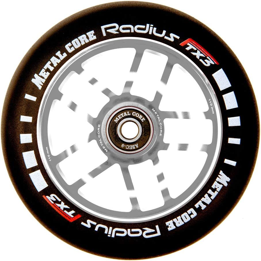 Metal Core Roue Radius pour scooter Freestyle Diam/ètre 110 mm