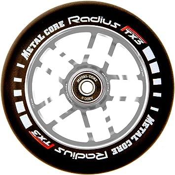 Di/ámetro 110 mm Metal Core Rueda Radius para Scooter Freestyle