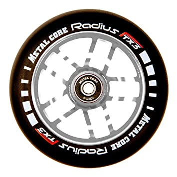 Metal Core Rueda Radius para Scooter Freestyle, Diámetro 110 mm (Plateado): Amazon.es: Deportes y aire libre