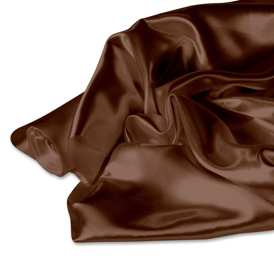 58 in. x 40 yd. Satin Roll Chocolate