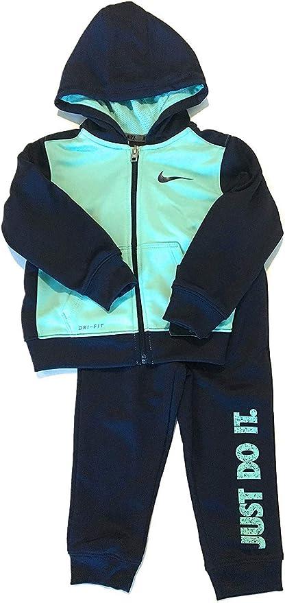 Nike niño niños Just Do It Dri-fit Chándal Binario Azul tamaño 12 ...