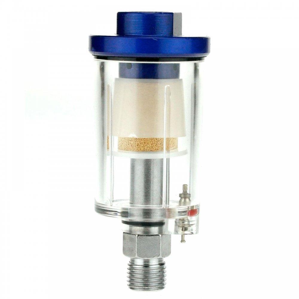 1//4/Zoll BSP FMT Wasserabscheider f/ür Druckluft-Werkzeuge In-Line 6/mm