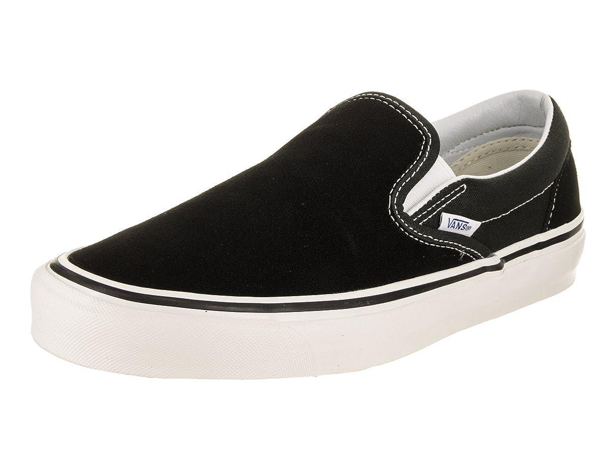 4bd52816849b0b Amazon.com  Vans Classic Slip-on 98 (Anaheim Factory) Black White  Shoes