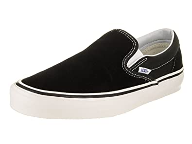 Amazon.com  Vans Classic Slip-on 98 (Anaheim Factory) Black White  Shoes 60d507e53