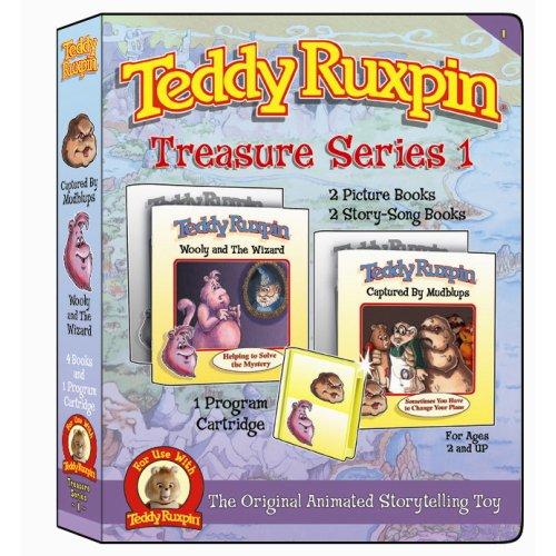 Teddy Ruxpin Treasure Series 1 Captured by Mudblups Program Cartridge (Teddy Ruxpin Grubby)
