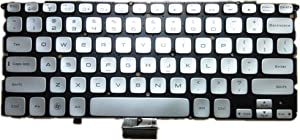 Laptop Keyboard for Dell XPS 14Z L412Z Silver US United States Edition
