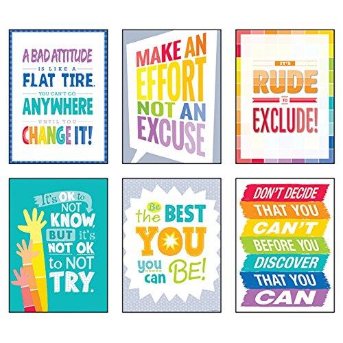 Inspire U Poster Pack 6 Poster Set