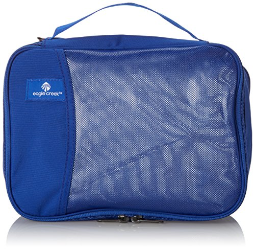 Eagle Creek Travel Gear Luggage Pack-it Clean Dirty Half Cube, Blue Sea