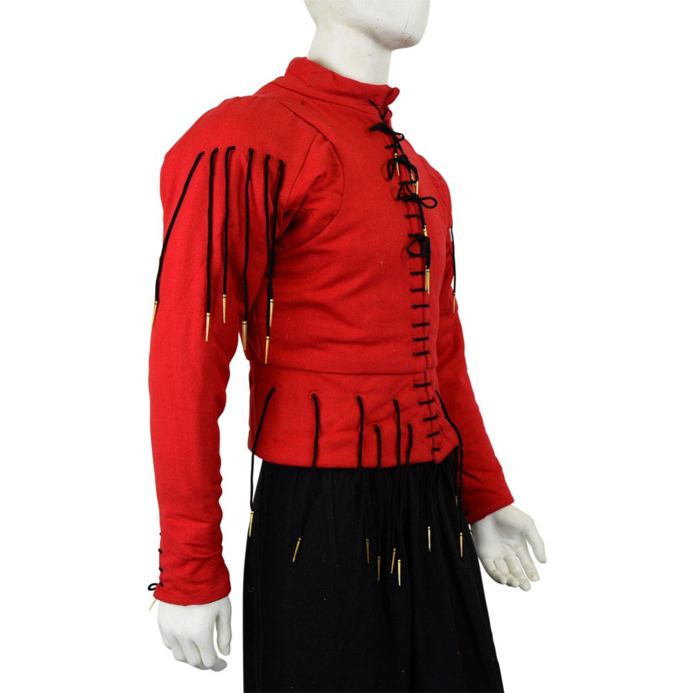cd3a17f0c70 Amazon.com: Armor Venue: 15th Century Arming Doublet - Red: Clothing