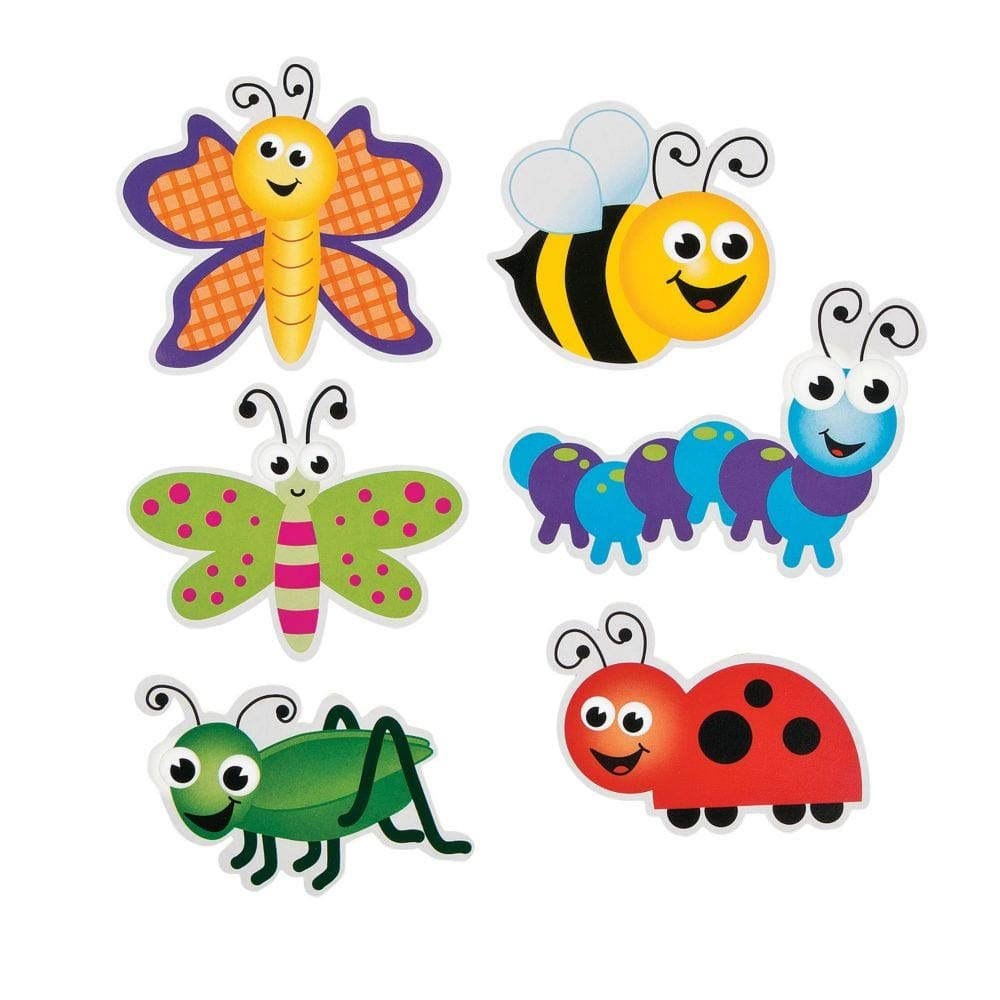 FX Bug Bulletin Board Cut-Outs - Pack of 96