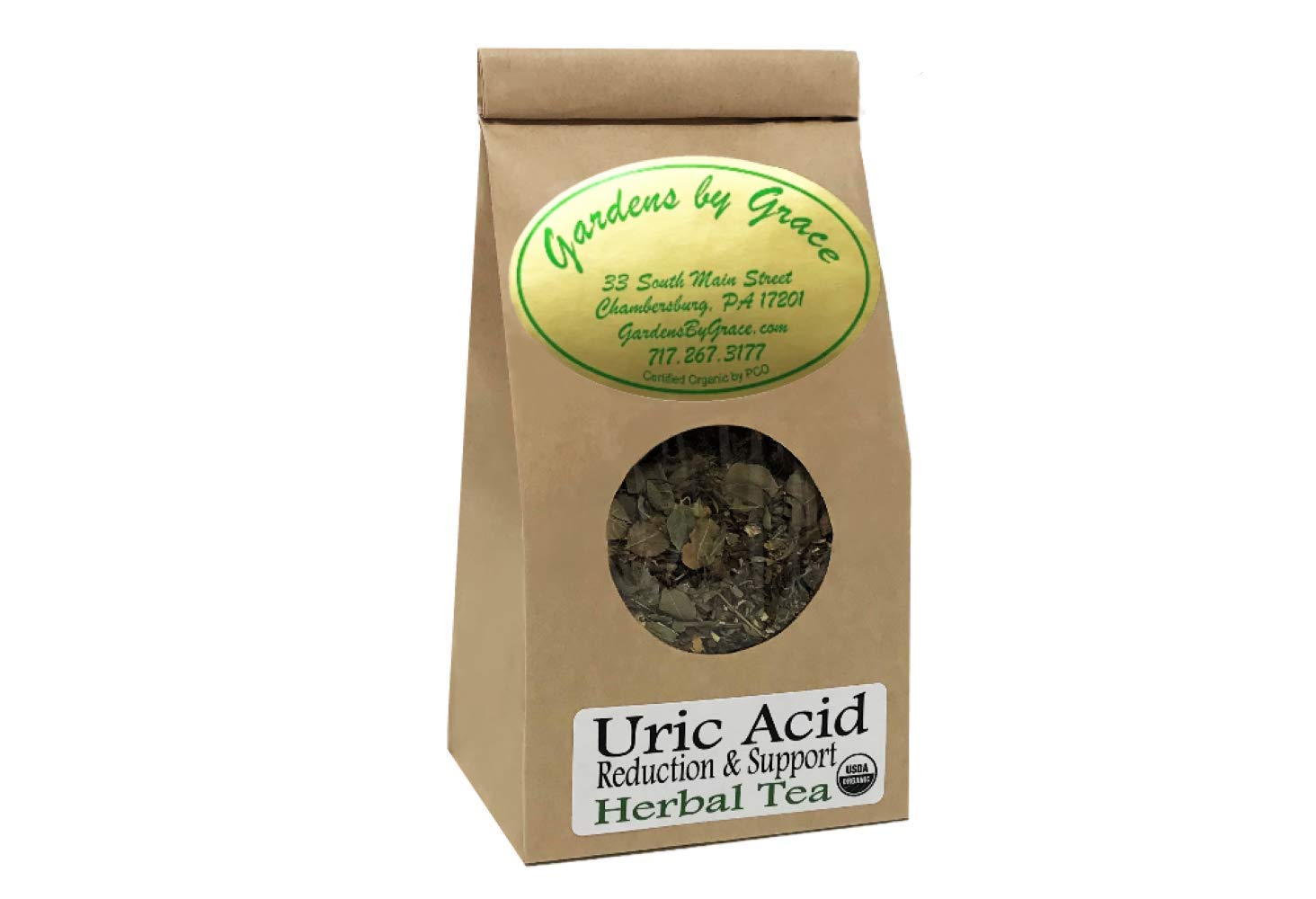 Uric Acid Reducer | Supports Kidney Health | Reduces Flare-ups, Chronic Pain, Swelling | Potent Antioxidants, Fast Relief | Organic, Loose Leaf 2 oz