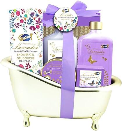 Gloss - caja de baño, caja de regalo para mujeres - Bath - Oro ...