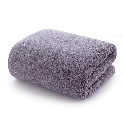 HER-JIRT Hombres/Mujeres de Algodón Toallas de baño Albornoces Hacer EL baño absorción