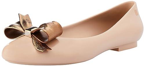 c5889416c6a Melissa Bambola Sogno Bow Latte Pompe di Balletto  Amazon.it  Scarpe e borse