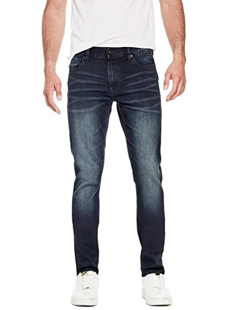 GUESS Factory Mens Delmar Slim Straight Jeans
