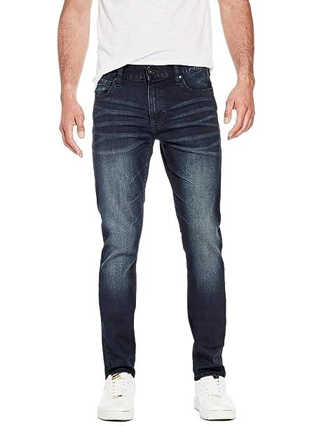 Amazon.com: GUESS Factory Delmar Slim - Pantalones vaqueros ...