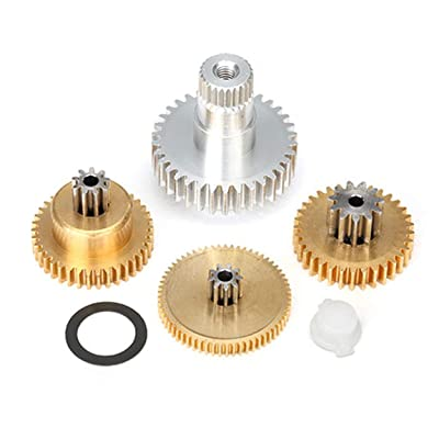 Traxxas 2087X Gear Set Metal (For 2085 & 2085X Servos) X-Maxx: Toys & Games
